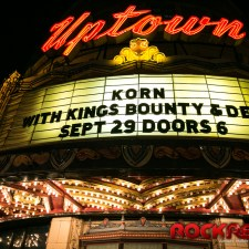 Korn blows the roof off of the Uptown Theater