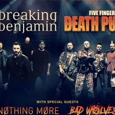 Breaking Benjamin and Five Finger Death Punch Tour Opener