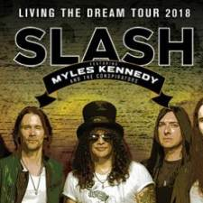 SLASH FEATURING MYLES KENNEDY AND THE CONSPIRATORS LIVE SHOW REVIEW & PHOTOS