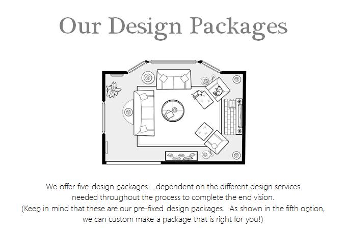 Our Design Packages  Rockridge Furniture  Design