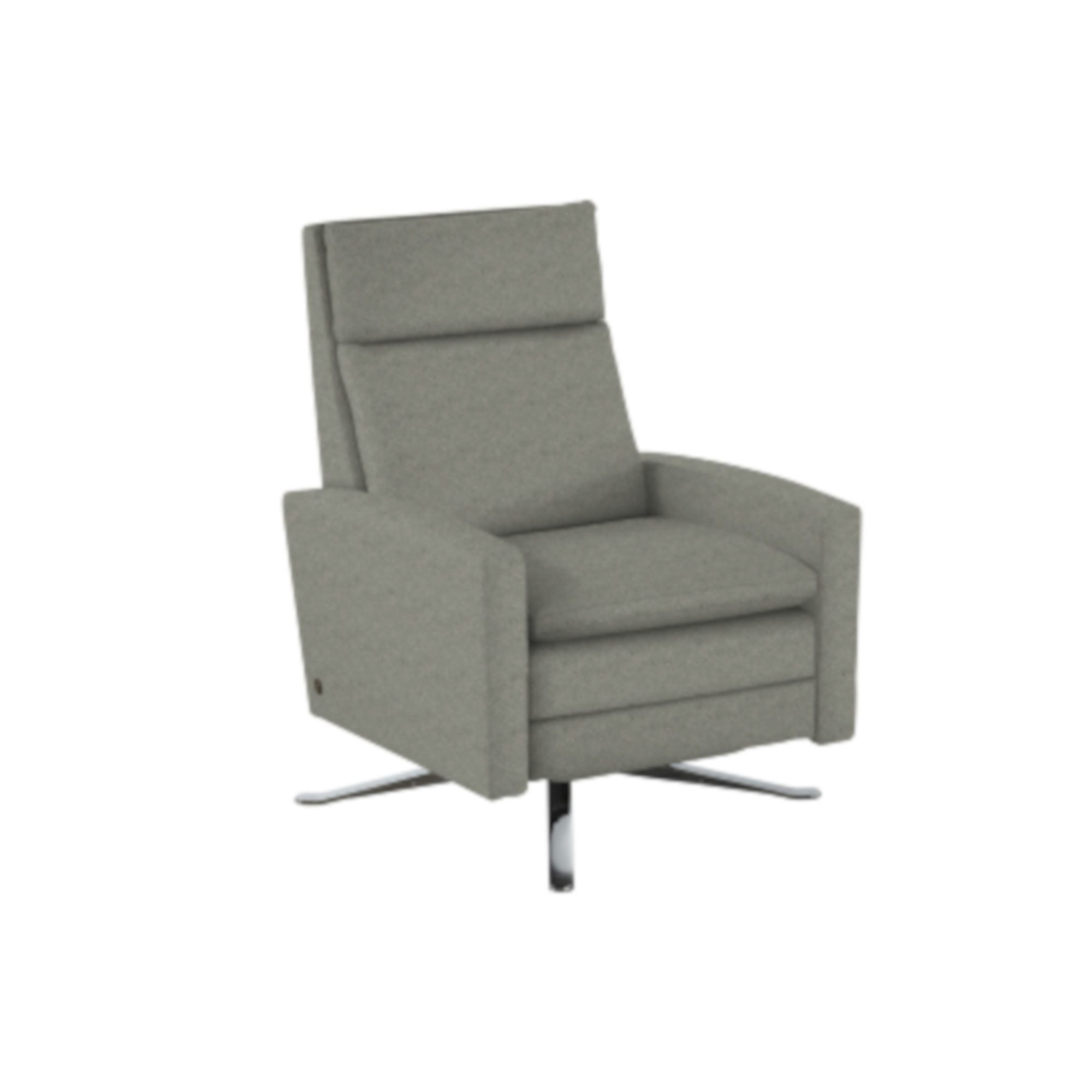 swivel chair inventor monogrammed toddler simon re invented recliner  rockridge furniture and design