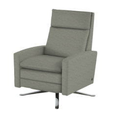 Swivel Chair Inventor Vinyl Dining Covers Simon Re Invented Recliner Rockridge Furniture Design Home