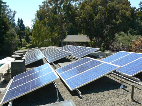Martinez, CA solar system installed and maintained by Rockridge Renewables