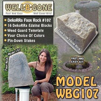 Well-B'-Gone Well Pump Cover Kit WBG107