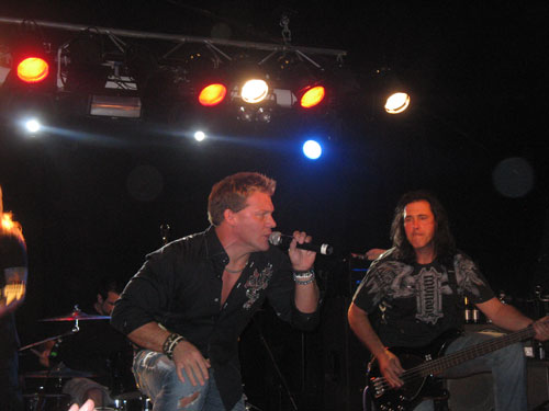 Chris Jericho Singing For Fozzy
