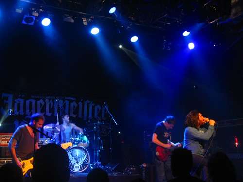 Never Means Maybe on stage at the Jagermeister Tour at the ICA