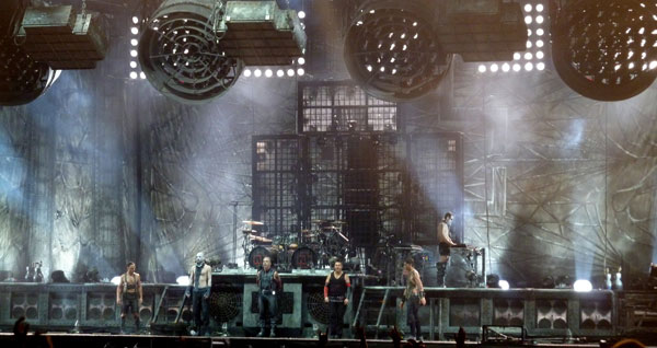 Rammstein Taking A Bow At Download 2013