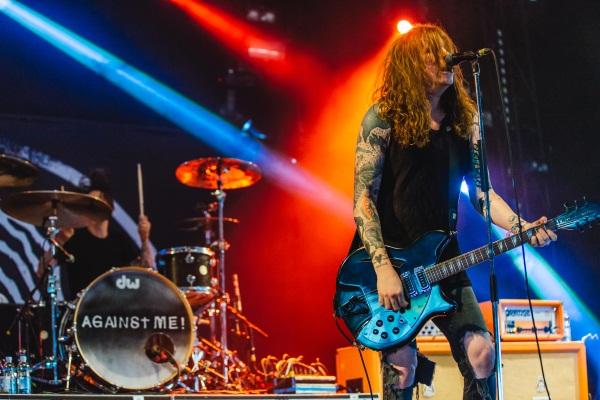 Against Me performing at Download Festival 2014. Photo by Derek Bremner