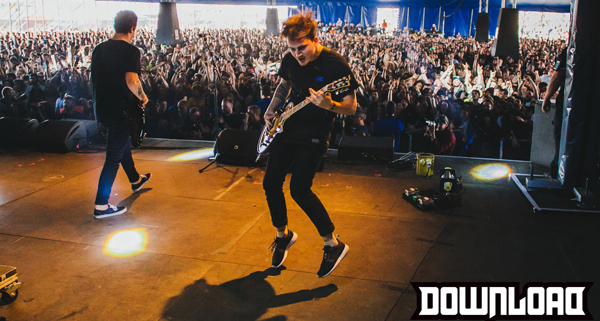 Beartooth on the Maverick stage at Download Festival 2015 by Scott Salt