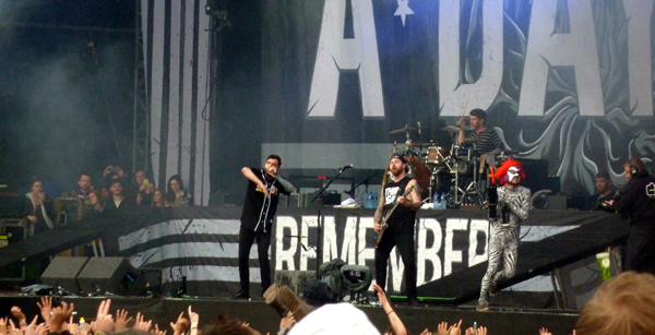 A Day To Remember Download Festival 2015