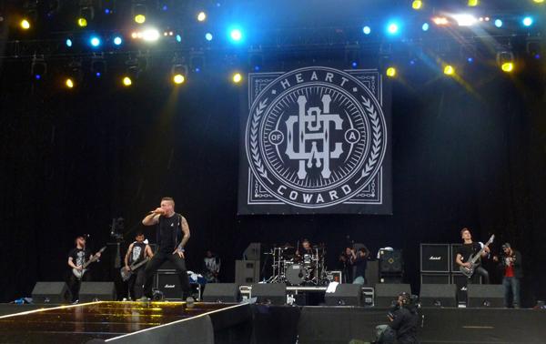 Heart Of A Coward Download Festival 2015