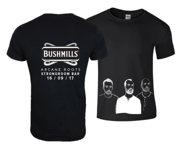 Arcane Roots Tee Bushmills Contest Proof