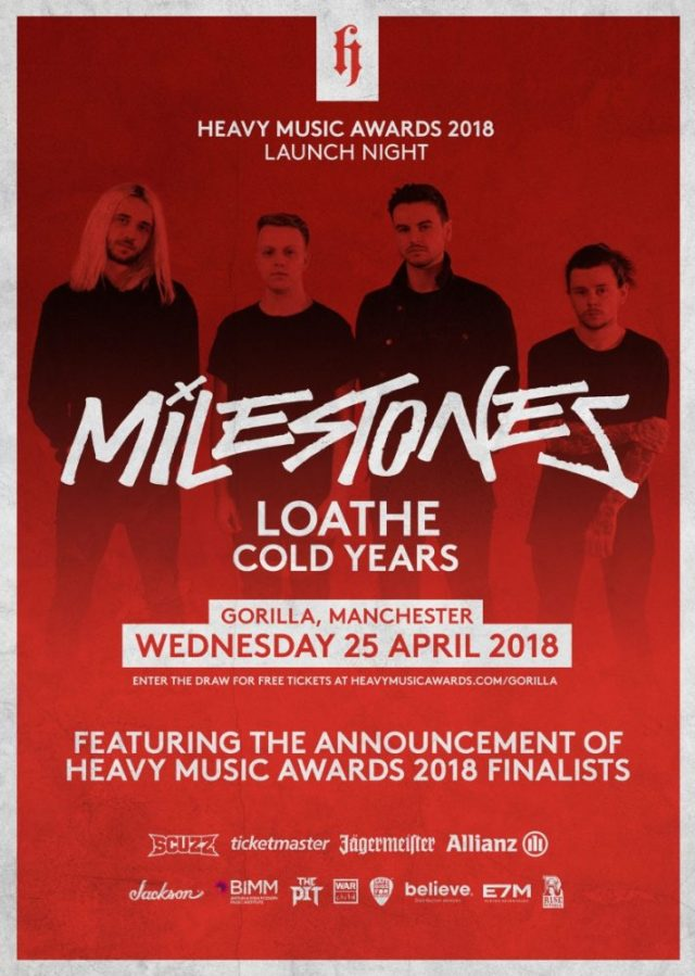 Heavy Music Awards 2018 Launch Show Poster