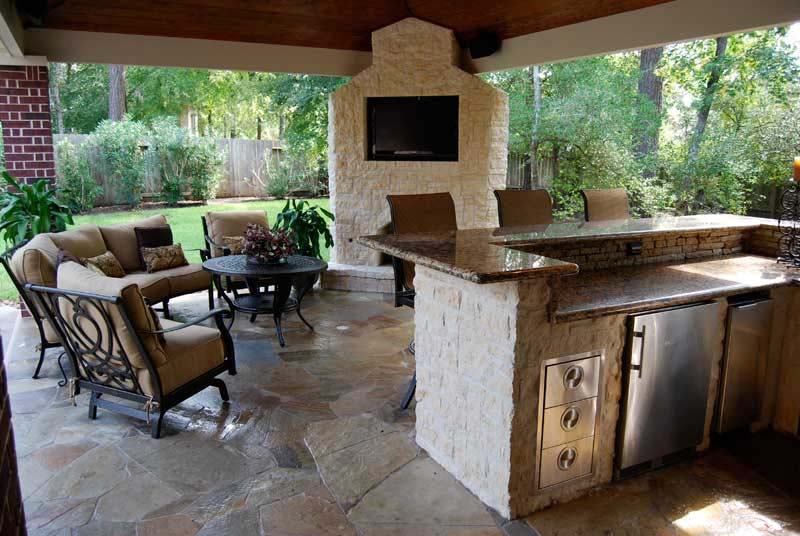 Outdoor Kitchen Houston