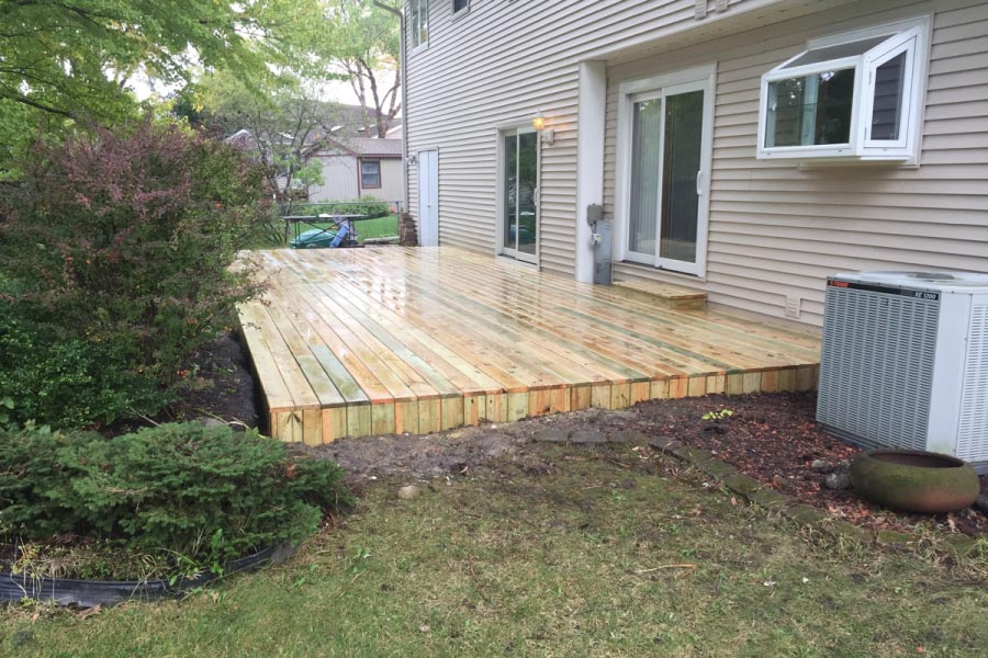 Photo Galleries  Wood Decks  Rock Solid Builders, Inc