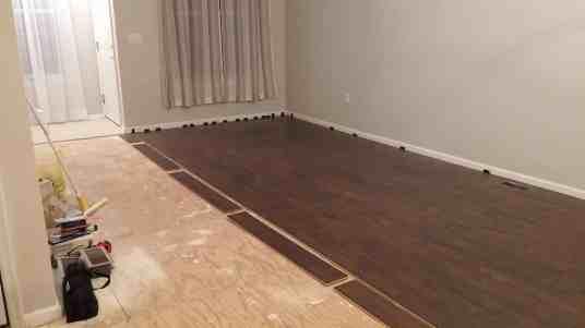 DIY Pergo Flooring