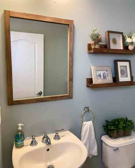 sage green paint, gray green paint, rhino by behr paint