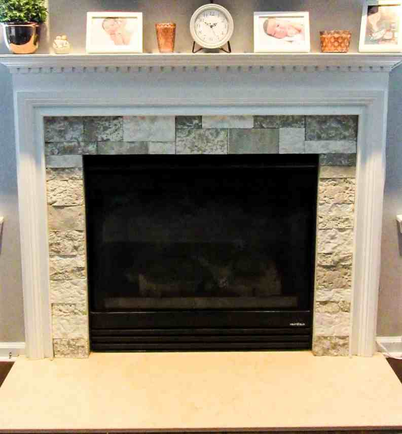 airstone fireplace