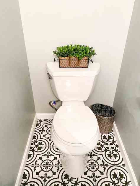 bathroom updates on a budget
