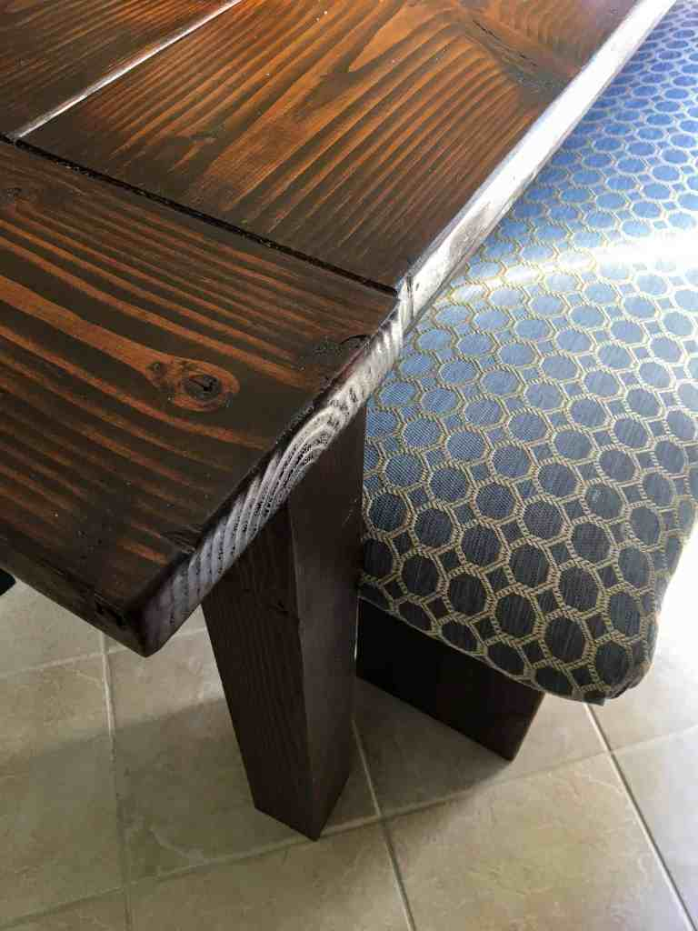 how to make a padded bench and upholster a bench