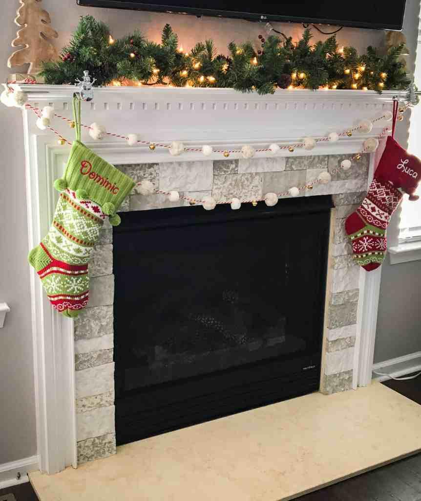 fireplace update using airstone birch bluff