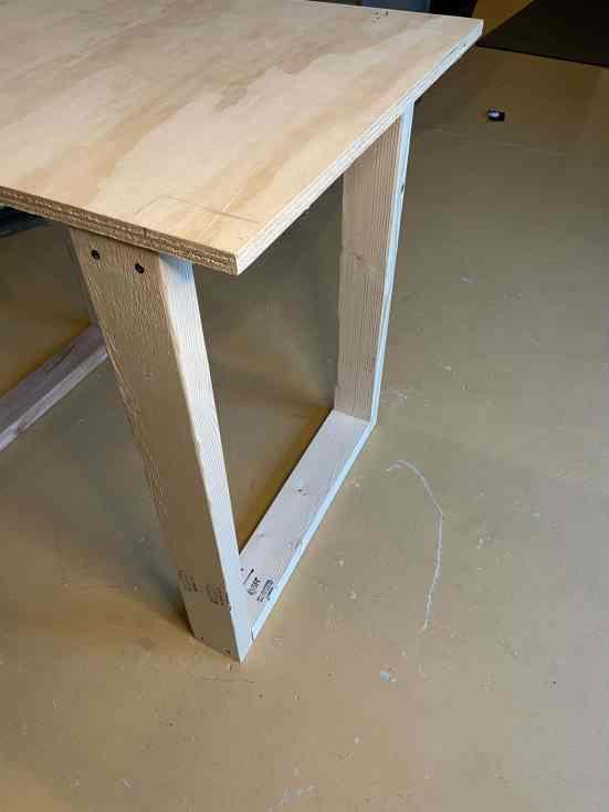 diy rustic computer desk