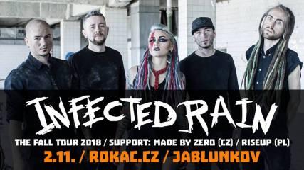 Infected-Rain pozvánka Jablunkov