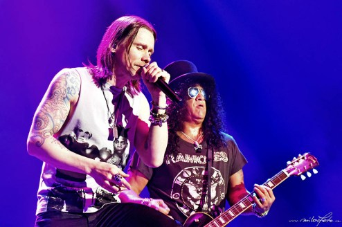 Slash, Myles Kennedy & The Conspirators O2 Arena Praha 2019