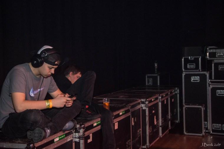 Backstage Traktor