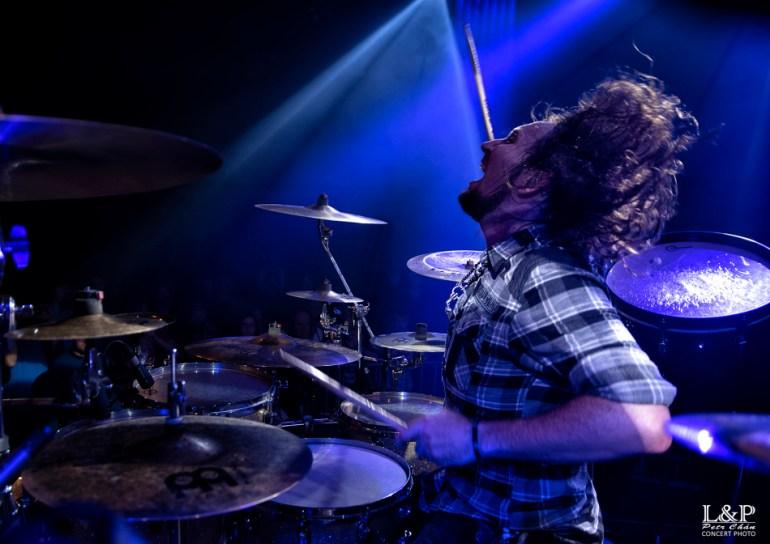 Miloš Meier_Drumming Syndrome v Lucerna Music Baru