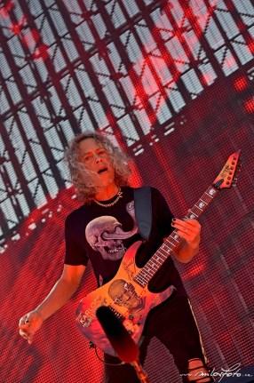 Metallica, Praha 2019, Kirk Hammett