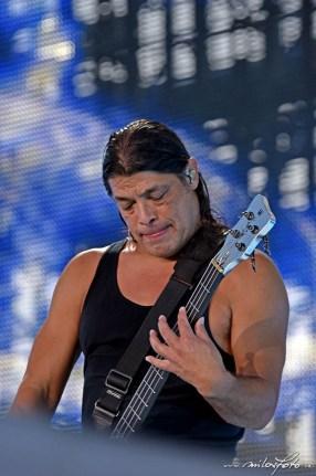 Metallica, Praha 2019, Robert Trujillo