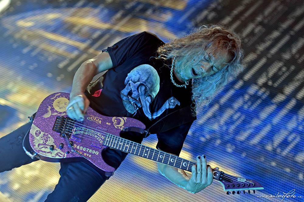 Metallica Praha 2019, Kirk Hammett