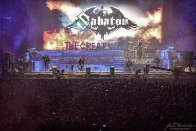 Sabaton, O2 arena, Praha