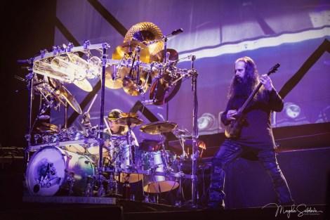 Dream Theater, Mike Mangini a John Petrucci, Praha 2020