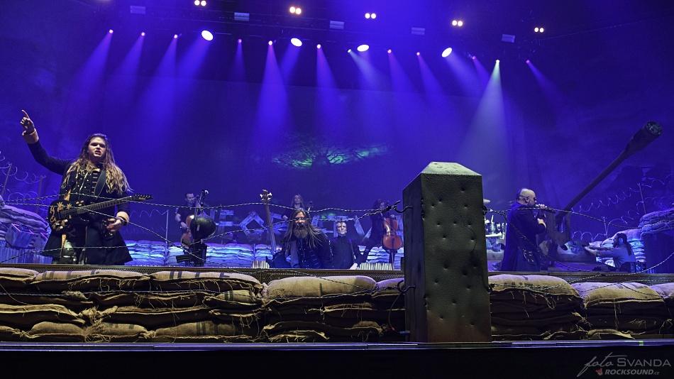Sabaton, Apocalyptica, O2 arena Praha