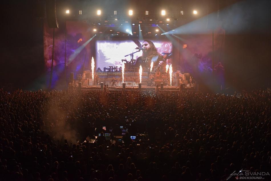 Sabaton, O2 arena Praha