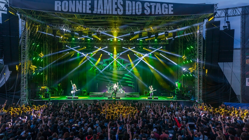 Ronnie James Dio Stage, Masters of Rock