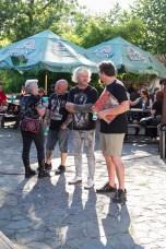 Slezskoostravský hrad a fans na akci Metal