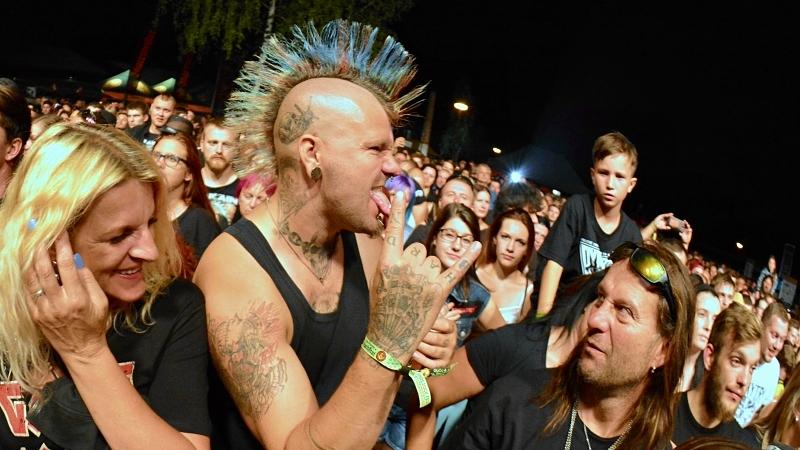 Punk fans