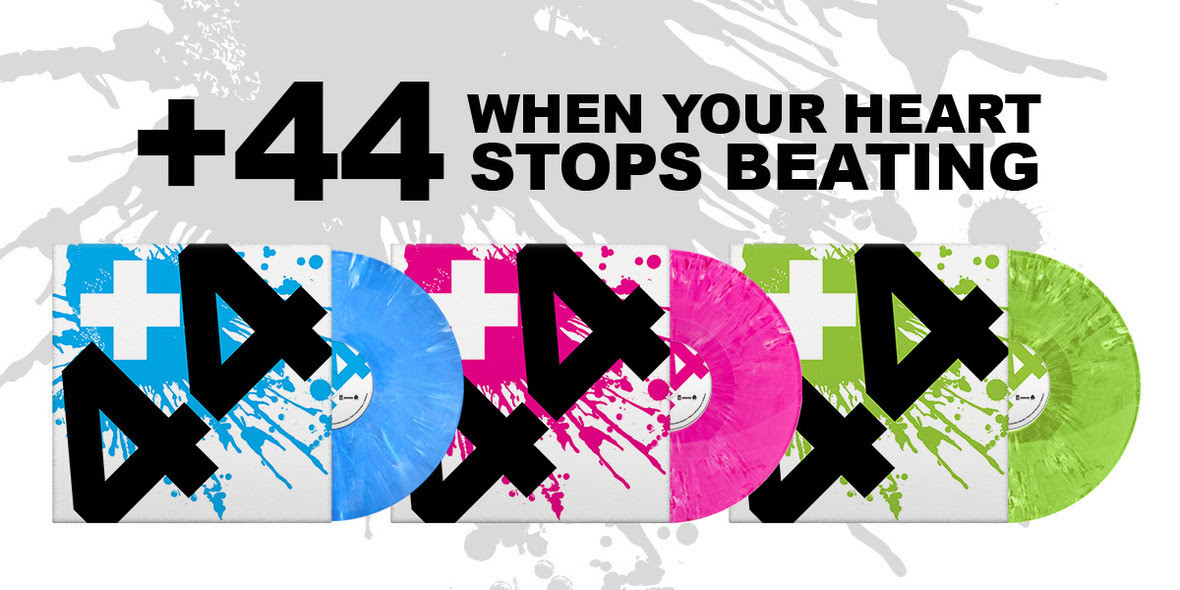 +44's Debut Album 'when Your Heart Stops Beating' Is Being Reissued On Limited Edition Vinyl