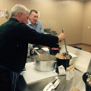 Chef Bob teaching Crockpot Cooking at Toolbox 4 Life