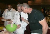 Cooking with Food Network's Robert Irvine.