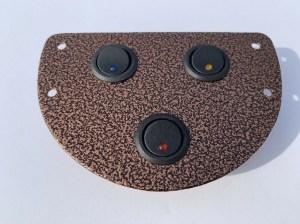 43706 Copper Vein 3 Switch Panel