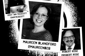 The Firestarter, Maureen Blandford Unleashing B2B and a Gift with a Cocktail Episode