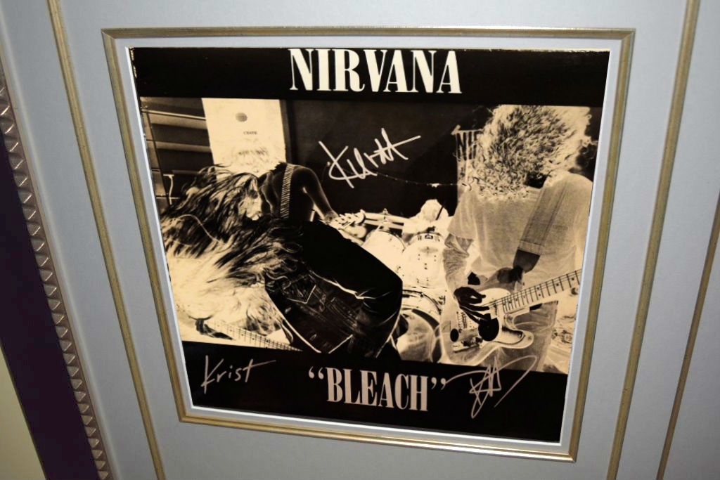 Nirvana Bleach Kurdt Cobain Krist Novoselic Dave