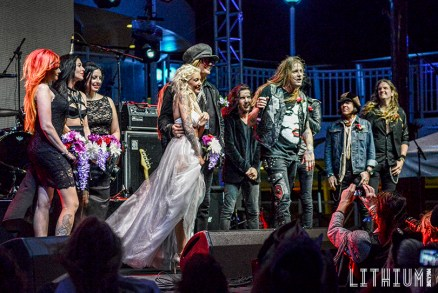 RockNRoll Wedding on The Monsters of Rock Cruise 2016