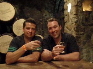 Kevin and Randal Jose Cuervo