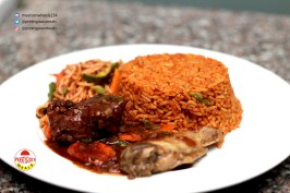 Prestigious Meals Jollof Rice