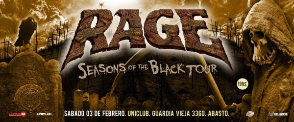 RAGE en Uniclub, Buenos Aires @ Uniclub | Buenos Aires | Argentina